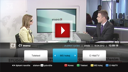 Pehrt video: Jak pouvat aplikace HbbtV