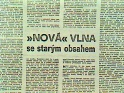 Nov vlna se starm obsahem, lnek z Tribuny, 1983