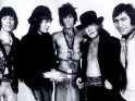 Rolling Stones, zleva Bill Wyman, Mick Jagger, Keith Richard, Brian Jones, Charlie Watts, 1969