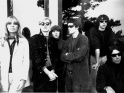 Velvet Underground, zleva Nico, vtvarnk Andy Warhol, dle Maureen Tucker, Lou Reed, Sterling Morrison, John Cale, cca 1966
