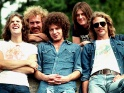 Eagles, zleva Glenn Frey, Bernie Leadon, Don Henley, Randy Meissner, Don Felder, cca 1. pol. 70. let